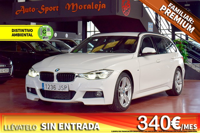BMW Serie 3 318DA TOURING 150CV PACK M ocasión