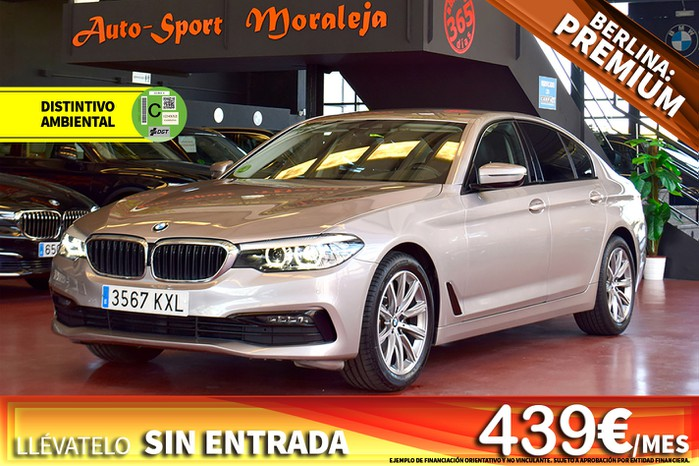 BMW Serie 5 520iA 184cv seminuevo