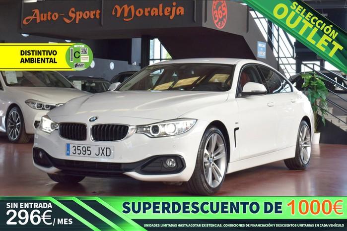 BMW Serie 4 418dA Gran Coupé 150cv Sport outlet